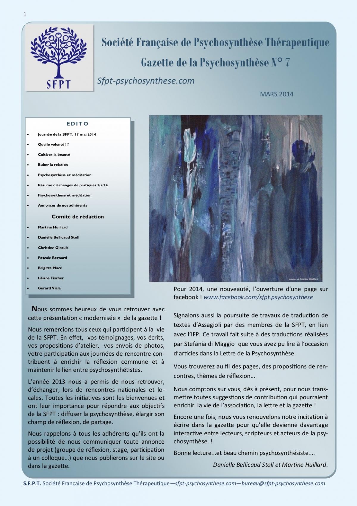 La Gazette N°7-mars 2014