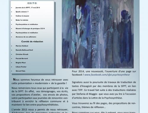 La gazette de la psychosynthese – n°7